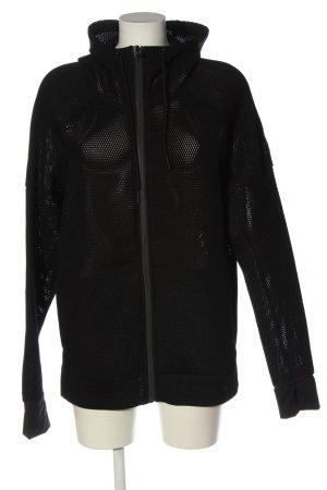 Adidas Sudadera con capucha negro look casual