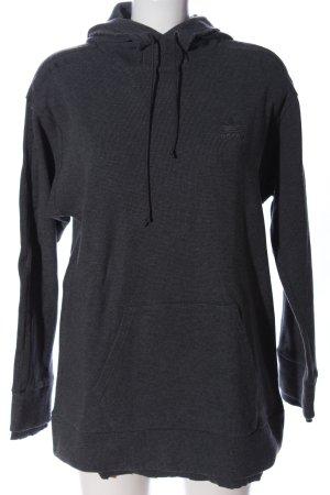 Adidas Hooded Sweatshirt black casual look