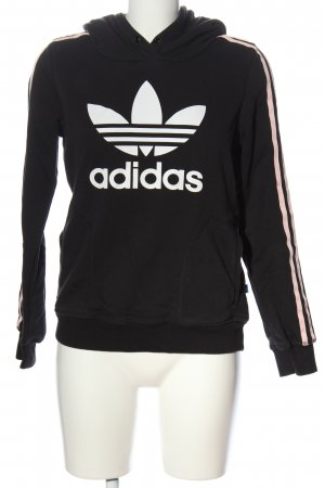 Adidas Hooded Sweatshirt themed print casual look