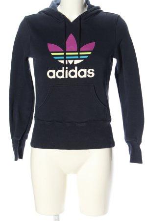 Adidas Kapuzensweatshirt Motivdruck Casual-Look