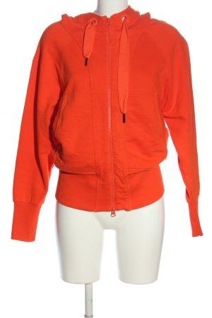 Adidas Sweat à capuche rouge style décontracté