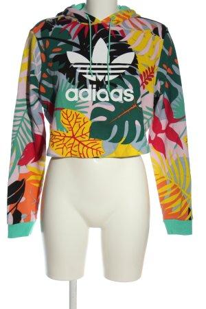 Adidas Sweatshirt met capuchon volledige print casual uitstraling