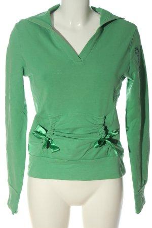 Adidas Kapuzensweatshirt grün Casual-Look