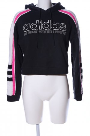 Adidas Kapuzensweatshirt Schriftzug gedruckt Casual-Look