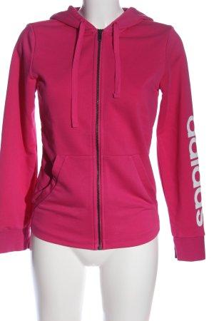 Adidas Bluza z kapturem różowy W stylu casual