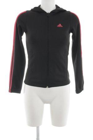 Adidas Kapuzensweatshirt schwarz sportlicher Stil