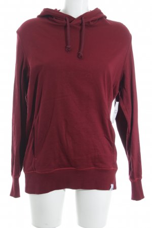 Adidas Kapuzensweatshirt dunkelrot Casual-Look