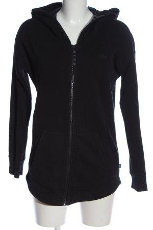 Adidas Bluza z kapturem czarny W stylu casual