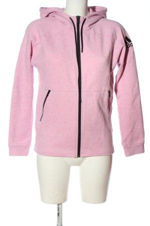 Adidas Kapuzensweatshirt pink meliert Casual-Look