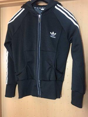 Adidas Kapuzenweste in schwarz