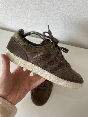 Adidas Khaki gr 40 Echt Leder Sneaker