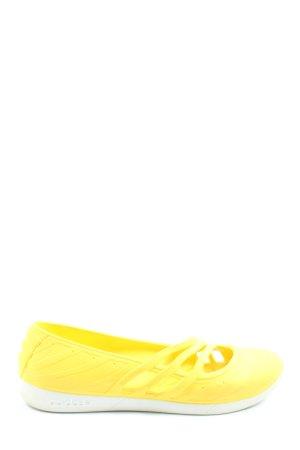 Adidas Schlüpfsneaker blassgelb Casual-Look