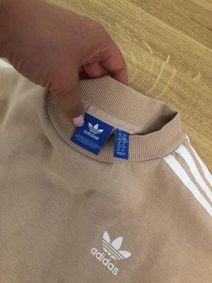 Adidas Robe pull vieux rose-blanc
