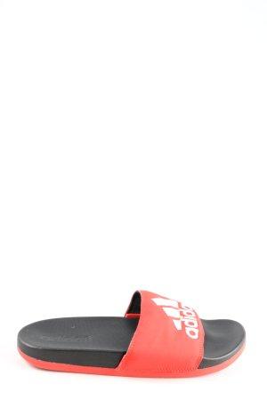 Adidas Comfortabele sandalen groen-zwart casual uitstraling