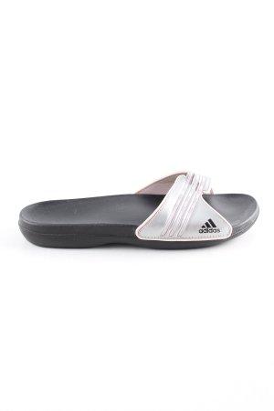 Adidas Comfort Sandals black-light grey casual look