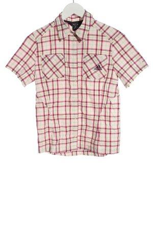 Adidas Chemise à manches courtes motif à carreaux style décontracté