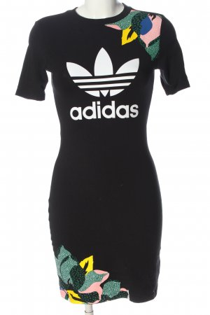 Adidas Shortsleeve Dress printed lettering casual look