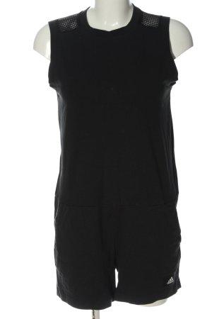 Adidas Kurzer Jumpsuit noir style décontracté
