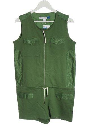 Adidas Kurzer Jumpsuit green casual look