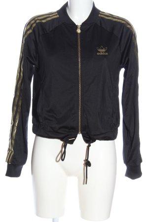 Adidas Kurzjacke schwarz sportlicher Stil