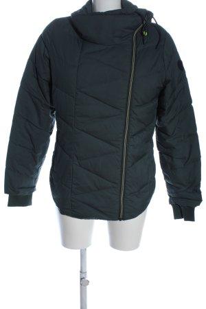 Adidas Kurzjacke schwarz Steppmuster Casual-Look