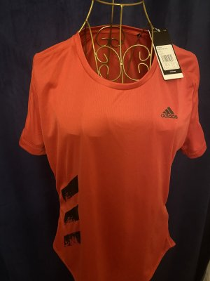 Adidas T-shirt de sport rouge