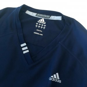 Adidas Maglietta sport blu neon-blu