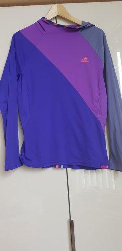 Adidas Sportshirt donkerpaars-blauw-paars