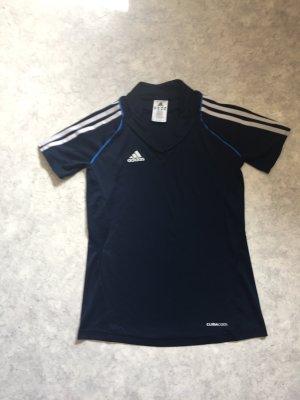 Adidas Laufshirt in Blau Größe 32