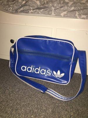 Adidas Bolsa de gimnasio azul neón-azul