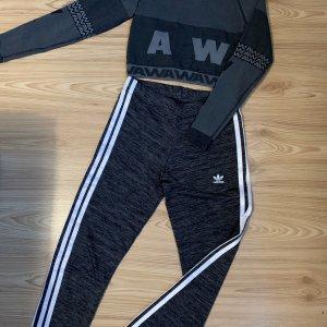 Adidas Legging antraciet