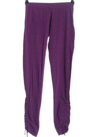 Adidas Leggings lila Casual-Look