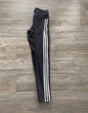 Adidas Legginsy czarny-biały