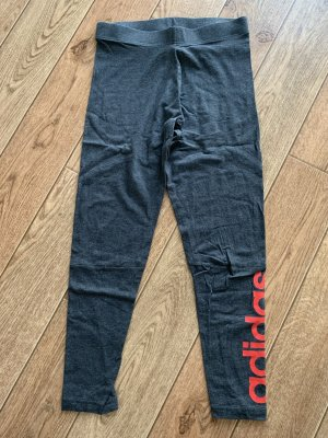 Adidas Leggings dark grey-brick red