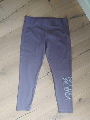 Adidas Leggings Sporthose Sport Graulila 7/8