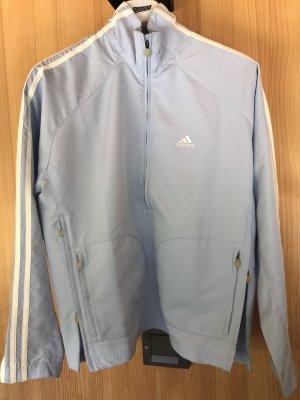 Adidas Originals Sportjack azuur-wit