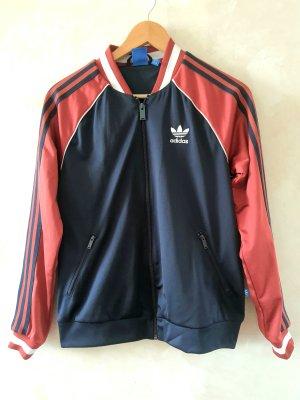Adidas Kurtka sportowa rudy-ciemnoniebieski
