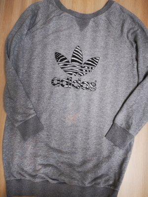 Adidas Long Sweatshirt Sweatkleid in Gr. 38