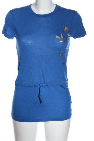 Adidas Longshirt blau Casual-Look