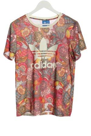 Adidas Lang shirt volledige print casual uitstraling