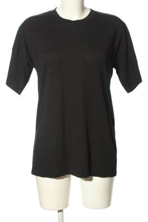 Adidas Long Shirt black casual look