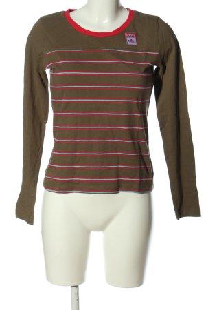 Adidas Longsleeve striped pattern casual look