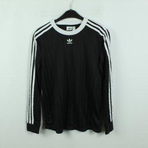 Adidas Koszulka z długim rękawem czarny-biały Poliester