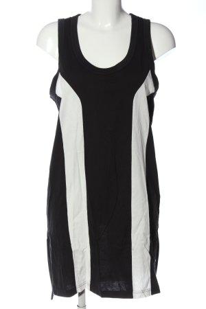 Adidas Robe courte noir-blanc style décontracté