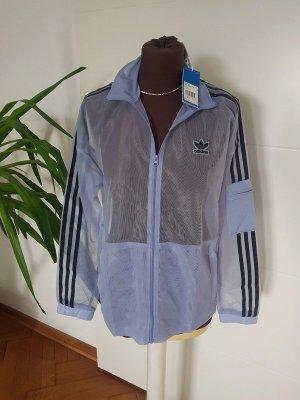 Adidas Sports Jacket turquoise-light blue mixture fibre