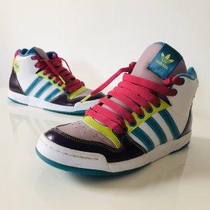 Adidas midiru Court Sneaker Schuhe Gr  39 bunt pink weiß