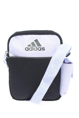 Adidas Minitasche weiß-schwarz Motivdruck Casual-Look