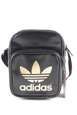 Adidas Mini Bag black printed lettering casual look