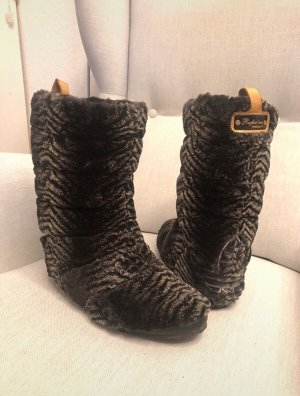 "Adidas Missy Elliot ""Respect Me"" Limited Edition Pelz Fake Fur Stiefel Boots Yeti 40 2/3"
