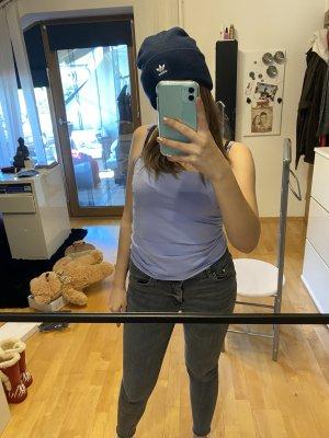 Adidas Chapeau en tricot bleu foncé